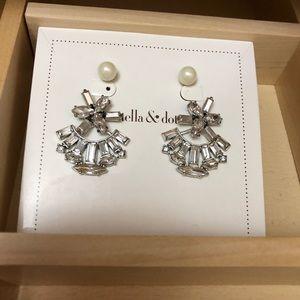 Stella & Dot Earrings Pearl